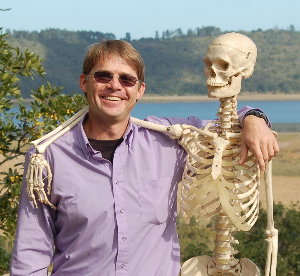 Richard and Fred, the BSR College Skeleton - Best Friends forever!