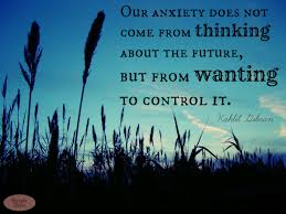 Anxiety and how to cope with it
