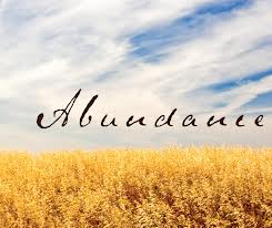 """Decree of Abundance"""