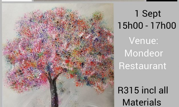 Paint a Spring tree with Paint it on 1st September
