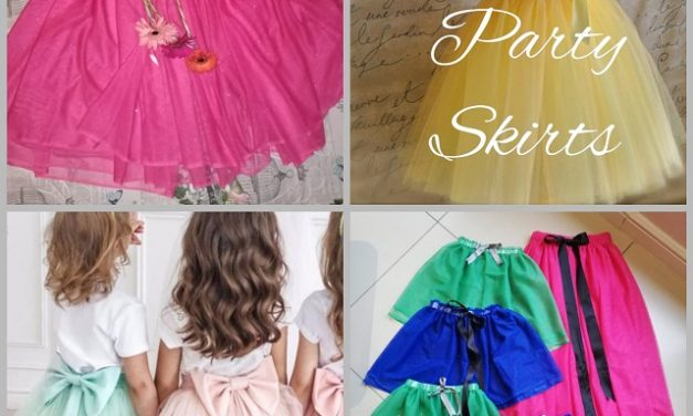 Party Skirts for little girls