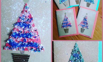 Stunning hand made Christmas cards
